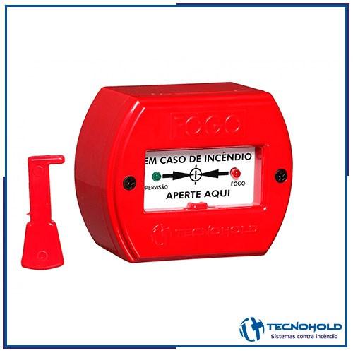 Botoeira para alarme de incêndio