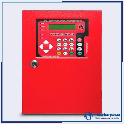 Central de alarme de incêndio endereçável