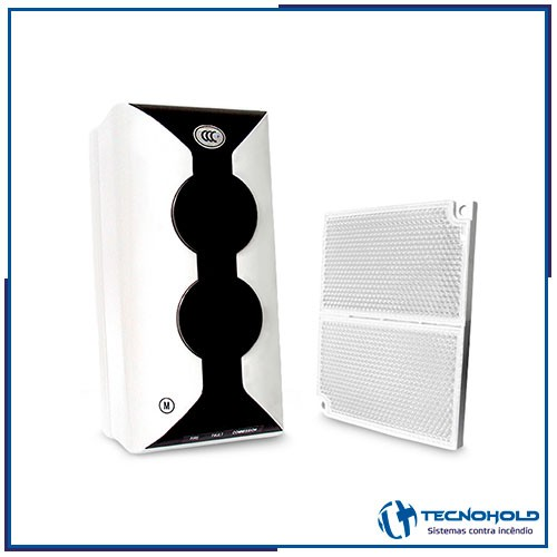 Detector de fumaça termovelocimétrico